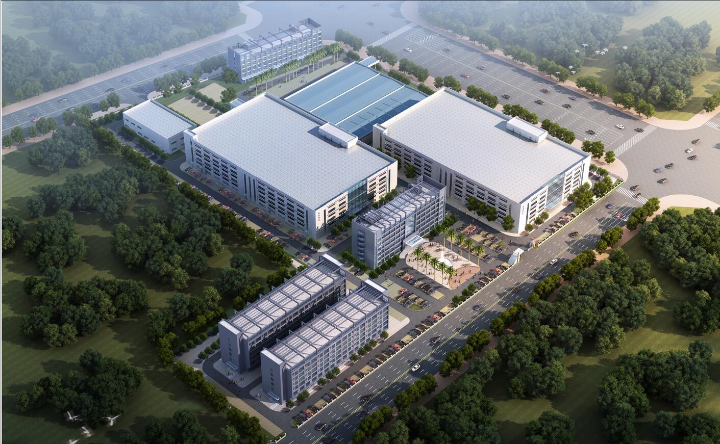 广西年产4.8亿袋非PVC高科技医用软装输液生产基地工程